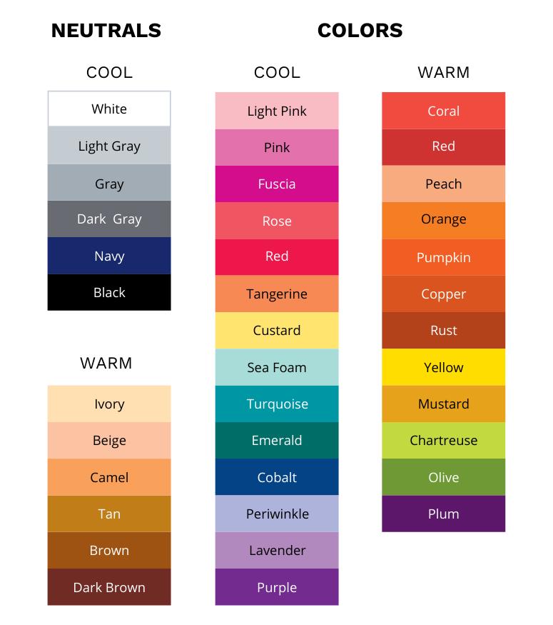 Clothes mix match 25 Ways